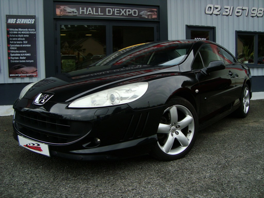 peugeot 407 coup f line v6 2 7 bi turbo 204cv bva serge have sport. Black Bedroom Furniture Sets. Home Design Ideas