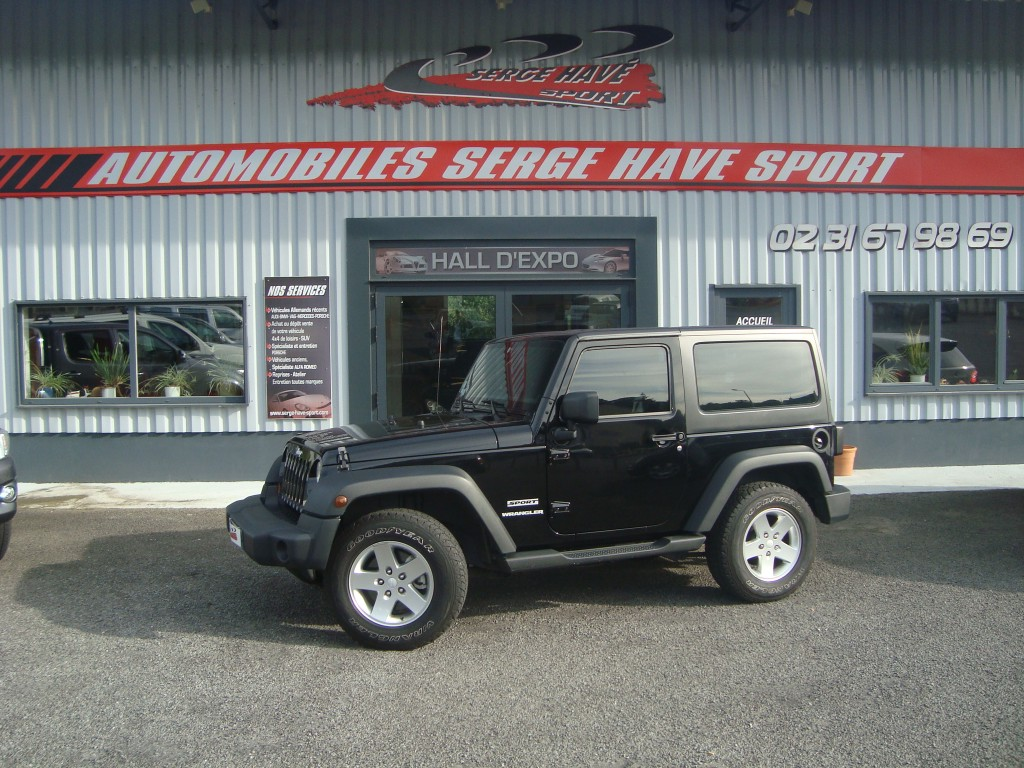 jeep wrangler 2 8 crd 200 3p sport serge have sport. Black Bedroom Furniture Sets. Home Design Ideas