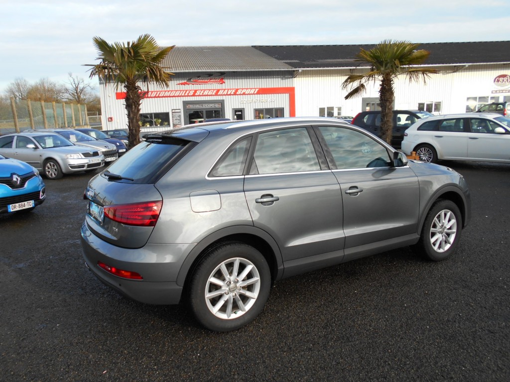 audi q3 2 0 tdi 140 ambiente serge have sport. Black Bedroom Furniture Sets. Home Design Ideas
