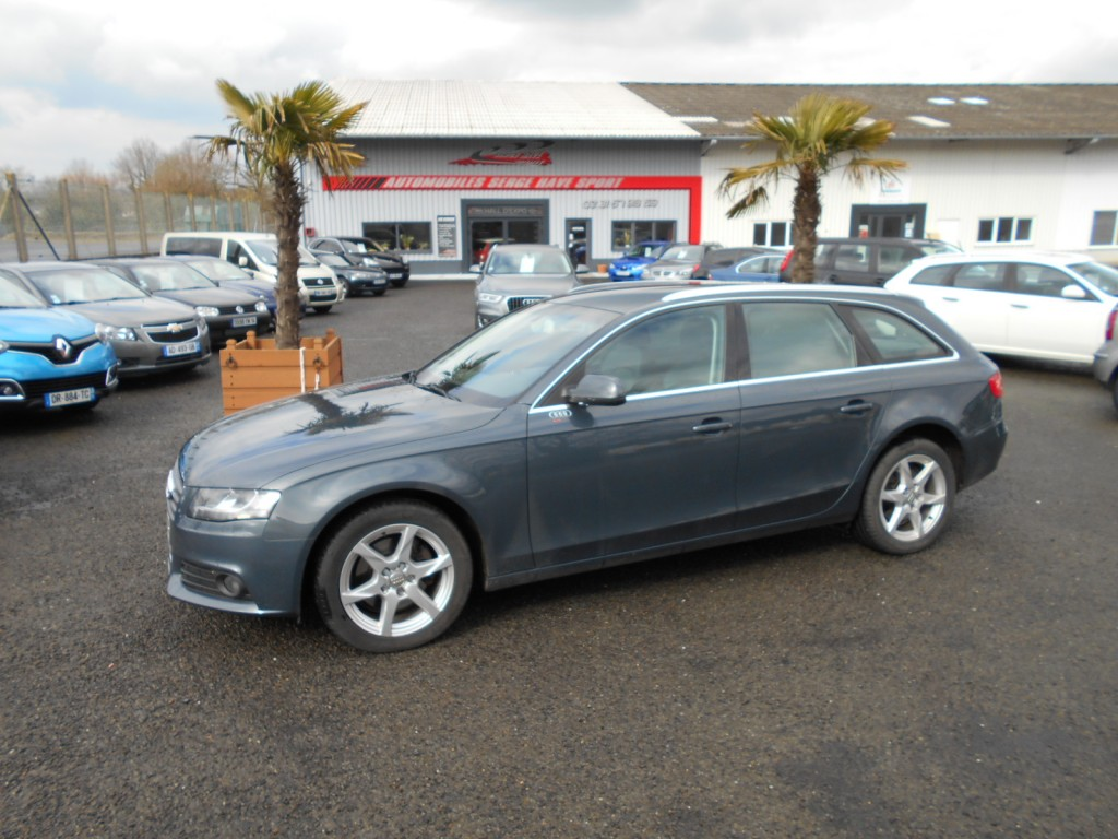 audi a4 avant 2 0 tdi 143 business line multitronic serge have sport. Black Bedroom Furniture Sets. Home Design Ideas