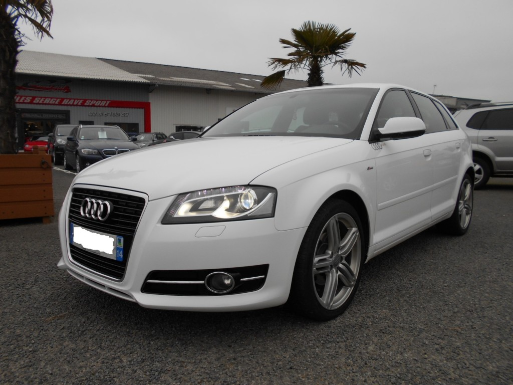 audi a3 sportback 1 6 tdi 105 s line serge have sport. Black Bedroom Furniture Sets. Home Design Ideas