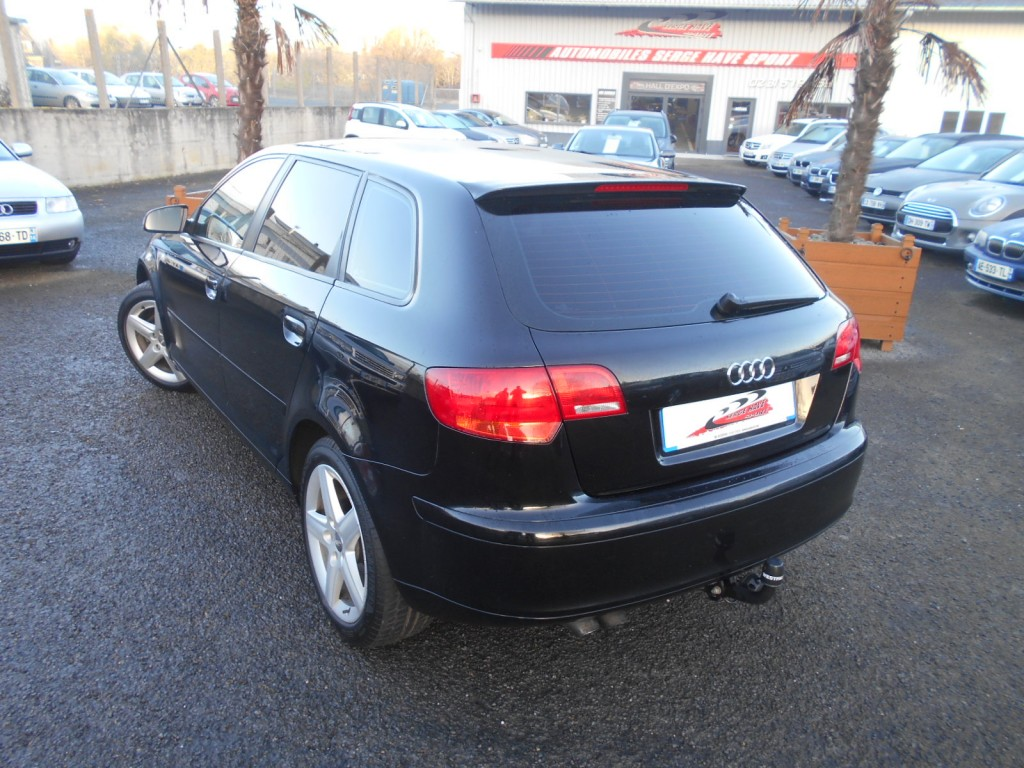 audi a3 sportback 1 9 tdi 105 design edition serge have sport. Black Bedroom Furniture Sets. Home Design Ideas