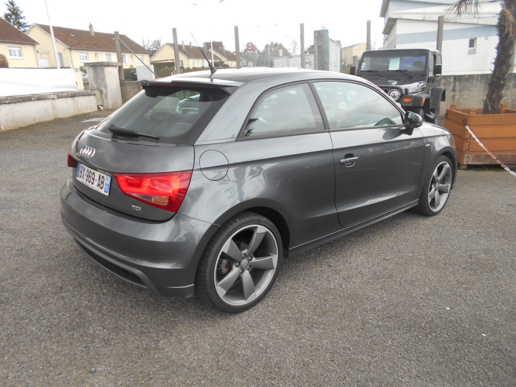 audi a1 1 6 tdi 105 s line serge have sport. Black Bedroom Furniture Sets. Home Design Ideas