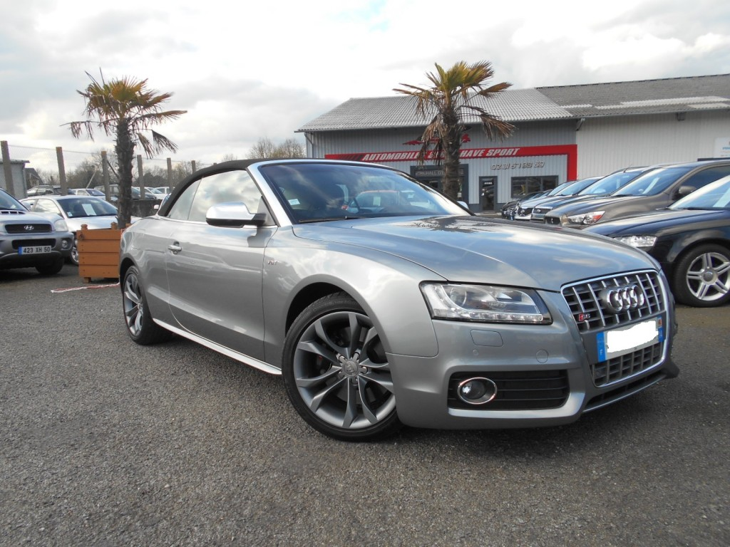 audi s5 cabriolet 3 0 v6 t s tronic 333 serge have sport. Black Bedroom Furniture Sets. Home Design Ideas