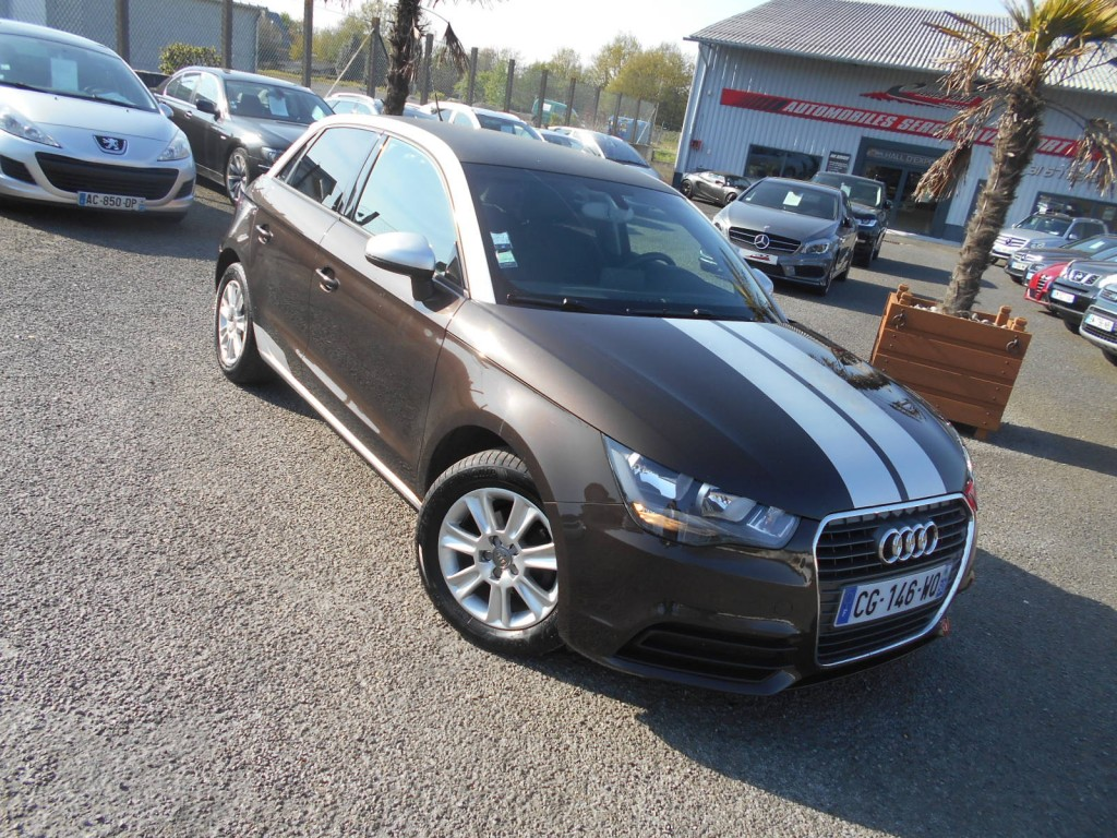 audi a1 sportback 1 6 tdi 90 ambiente s tronic 7 serge. Black Bedroom Furniture Sets. Home Design Ideas
