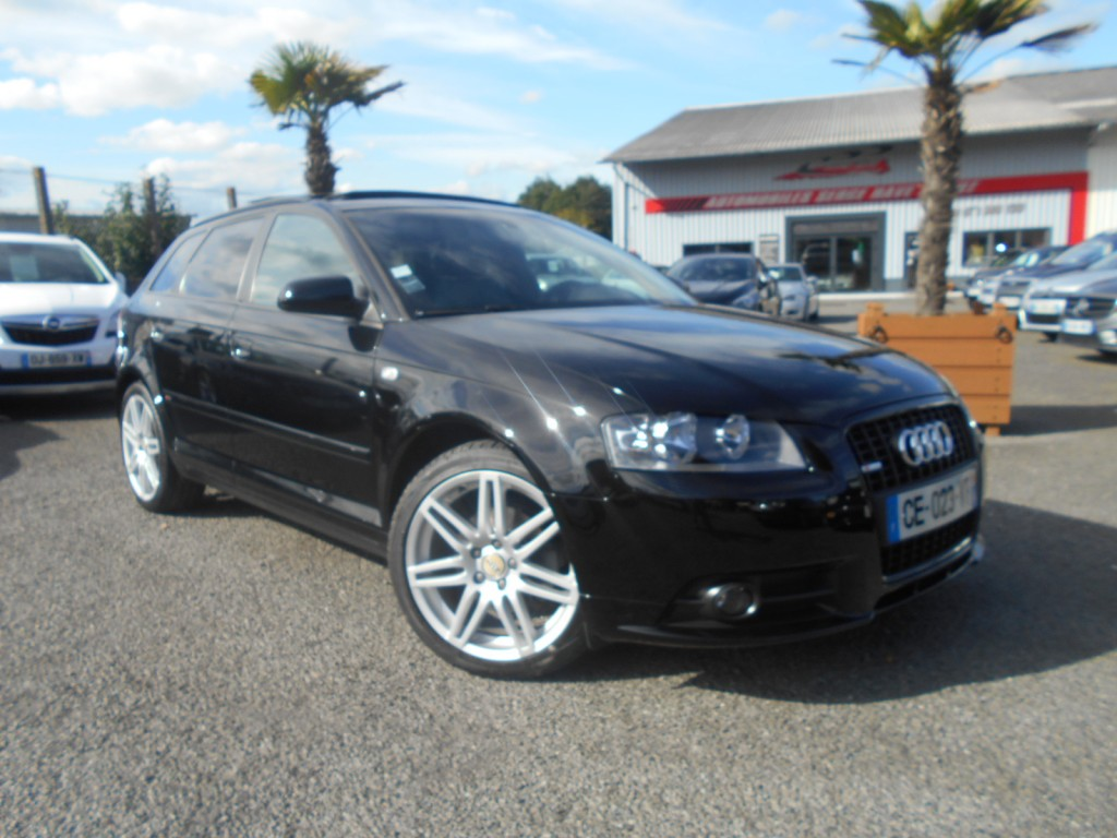 audi a3 sportback 2 0 tdi 140 s line serge have sport. Black Bedroom Furniture Sets. Home Design Ideas