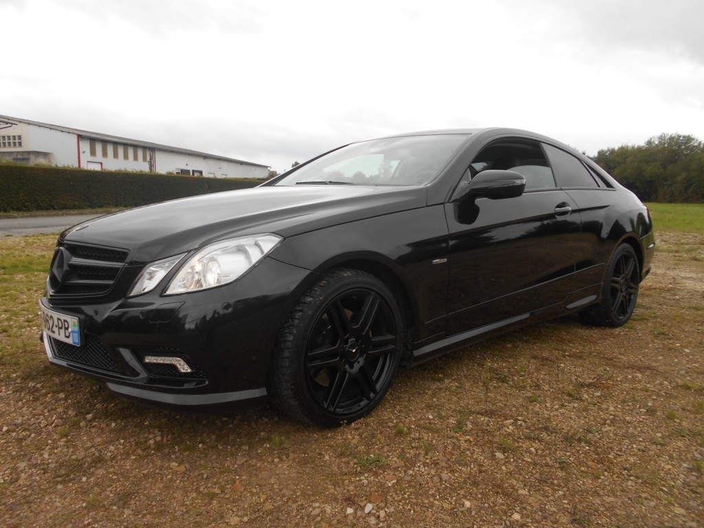 mercedes classe e coup 350 cdi ex cutive be pack amg serge have sport. Black Bedroom Furniture Sets. Home Design Ideas