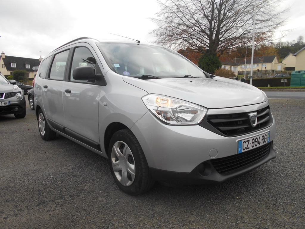 dacia lodgy 1 2 tce 115 silver line 7 places serge have sport. Black Bedroom Furniture Sets. Home Design Ideas